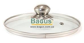 Крышка стеклянная 18см для посуды Frico (FRU-1009B-1)