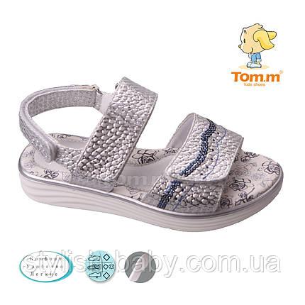 Детская коллекция летней обуви 2018. Детские босоножки бренда Tom.m для девочек (рр. с 31 по 36), фото 2