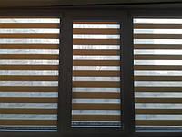 Оформление балкона. Ролеты День-Ночь закрытого типа.