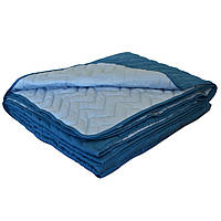 Покрывало на кровать микрофибра Blue