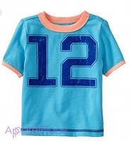 "OldNavy Футболка голубая ""12"""