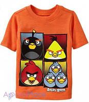 "OldNavy Футболка оранжевая ""Angry Birds"""