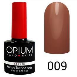 Гель лак Opium № 009 мокко 8 мл