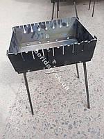 Мангал складной для отдыха 3 мм ,Украина   8 шампуров