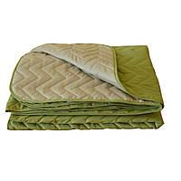 Покрывало на кровать микрофибра Green