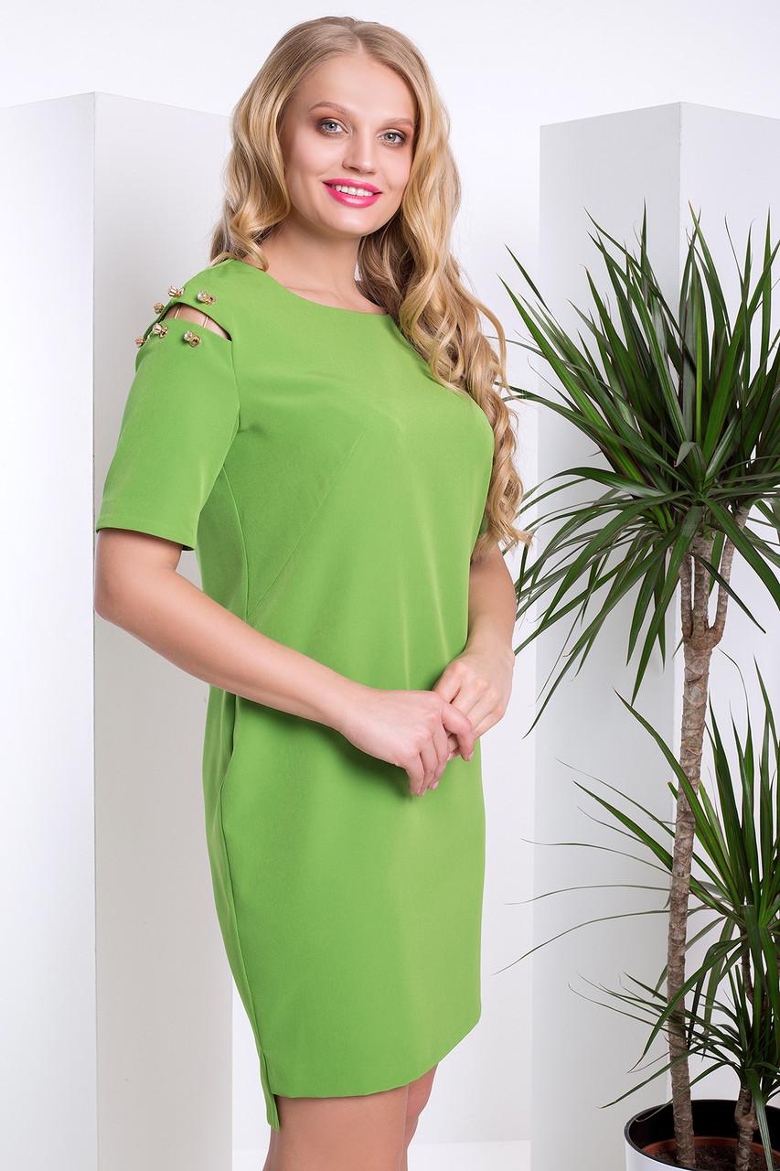 Летнее нарядное платье с 48 по 56 размер 2цвета
