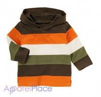 "Gymboree Кофта с капюшоном ""Stripe Shirt"""