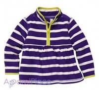 OshKosh Кофта фиолетовая в полоску на флисе