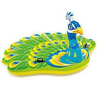 Надувной матрас-игрушка «Павлин» Peacock Island Intex 57250