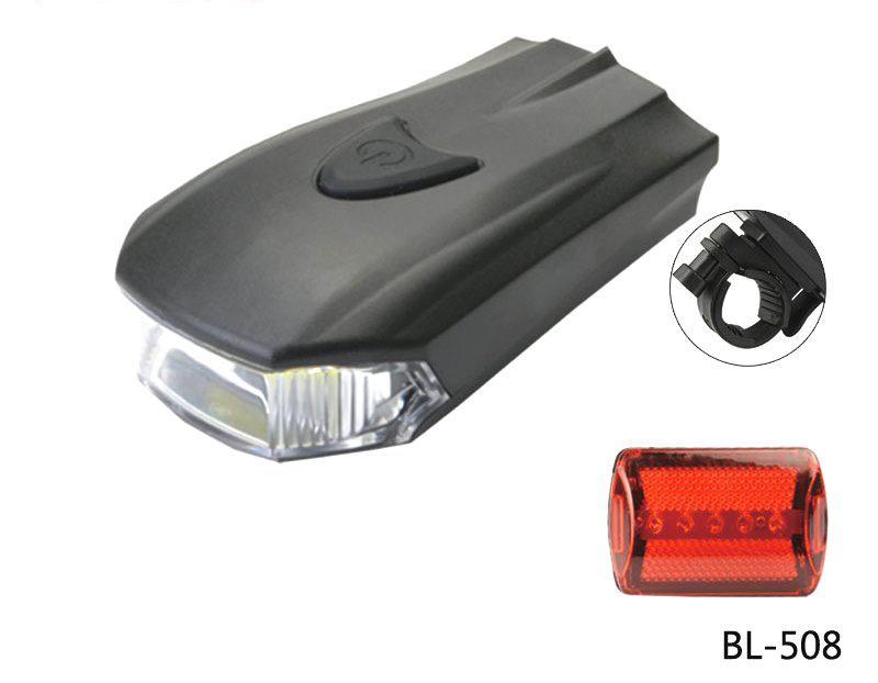 Фонарик велосипедный Bailong BL-508 LED