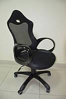 Кресло Матрикс 1 \сидение Сетка чорная\ спинка Сетка чорная, фото 1