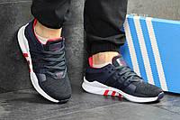 Мужские кроссовки  Adidas Equipment ADV  темно-синие   - Сетка,подошва пена,размеры: 41-45 Вьетнам, фото 1