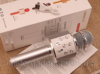 Безпровідний мікрофон караоке WS-858 з Bluetooth