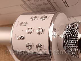 Беспроводной караоке микрофон WS-858 с Bluetooth , фото 3