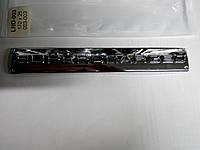 Надпись SUPERCHARGED  170х25 мм