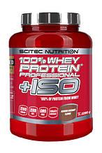 Протеин Сывороточный Scitec Nutrition 100% Whey Protein Professional + ISO 2280 g