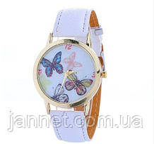 Часы наручные с бабочками женские