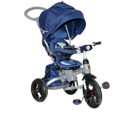 Детский трехколесный велосипед MODI CROSSER T500 Синий