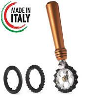 Нож для теста с 3 насадками Marcato Pastawheel Copper