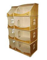 Кукольный домик-шкаф  Hega тонированный (091) , фото 1