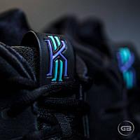 Мужские Баскетбольные кроссовки Nike Kyrie 4 ''Black&White''