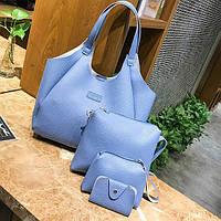 Набор повседневных сумок 4в1, цвета в наличии, фото 1
