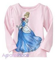 OldNavy Футболка с длинным рукавом, розовая Cinderella