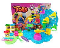 Набор для творчества Пластилин Trolls (Тролли) 6830 Карусель сладостей