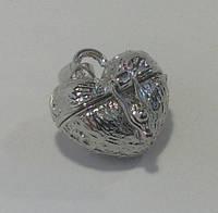 Кулон «Сердце» открывающееся, фото 1