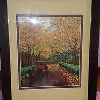 """Картина """"Осень"""" из бисера"""