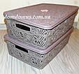 "Ажурна ""Lace mini hobby box"" 10 л Tuppex, Туреччина 8213, фото 2"