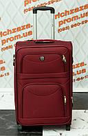 Средний темно-красный чемодан Wings