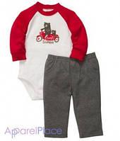 "Carter's Штаны и бодик ""Мишки на мотоцикле"""