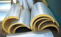 ППУ сегменти для труб с фольгопергамином, D 108мм, толщина 40 мм, фото 1