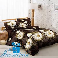 Комплект постельного белья из сатина ЛОМБАРДИЯ (200*220)