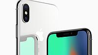 Задняя крышка для iPhone X, цвет белый