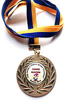 Медаль випускник дитячого садка варіант 14 Гномики