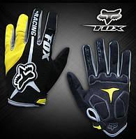 Велоперчатки Fox 2014 желтые