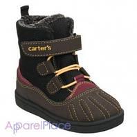 Carter's Ботинки коричневые на липучке