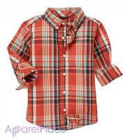 Gymboree Рубашка в красную клетку