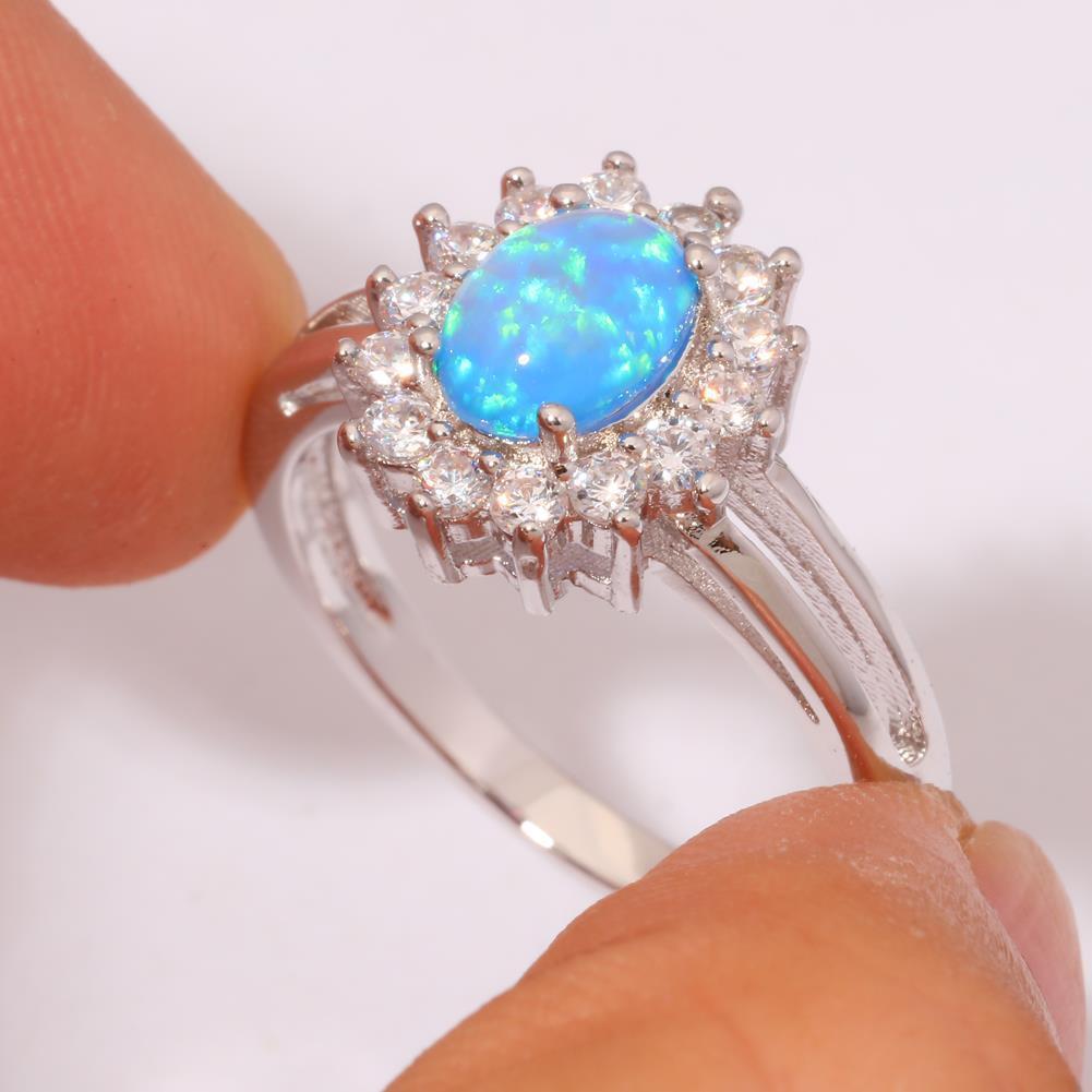 Красивое кольцо с огненным опалом в серебре.16-16,5 размер. Кольцо - опал., фото 1