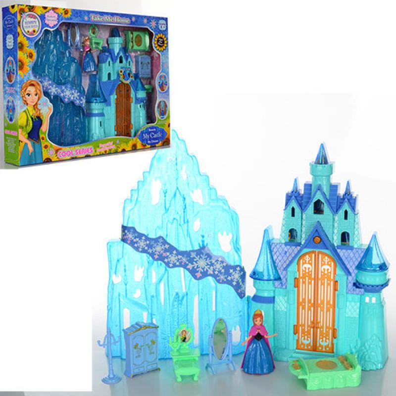 Замок Фроузен Frozen (Холодное сердце) со звуковыми и световыми эффектами, 2995