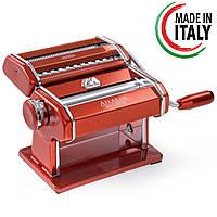 Лапшерезка Marcato Atlas 150 Rosso паста-машина для лапши и нарезки теста — Оригинал!