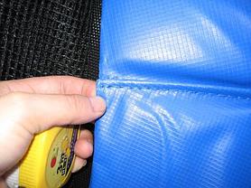 Накидка на пружины батута 435 - 427 см. (14 ft) из плотного ПВХ, фото 3