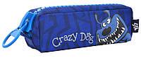 """531894 Пенал мягкий (1 отд.) YES """"Crazy dog"""", фото 1"""