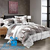 Семейное постельное белье из сатина СИЦИЛИЯ (2 пододеяльника)