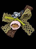 Заколка 'Flora Secret' Ткань