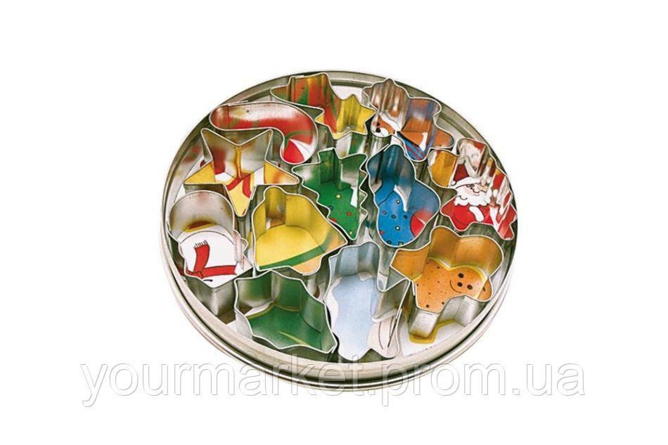 Набор форм для печенья Рождество Новый год Patisse 10 пр 01952