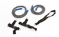 Резиновый амортизатор для спорта FB-3121 Foot Training (PL, резина, l-140см)