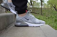 Мужские кроссовки Nike Air Max 270 Grey (Реплика)
